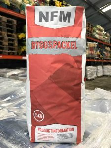 NFM Byggspackel Spackling Paste Bag
